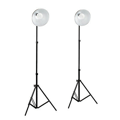 2 New Photo Video Studio Continuous Sparkler Dome Light Kit 2M Stand For Tent UK • 54.95£