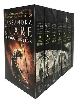 Cassandra Clare Set 7 Books Collection Mortal Instruments Series Brand NEW Cover • 18.99£