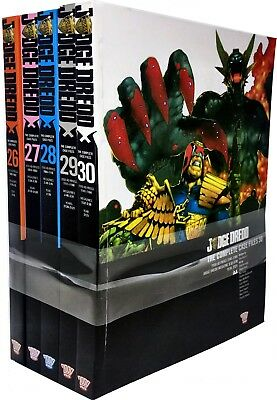 Judge Dredd: Complete Case Files Volume 26-30 Collection 5 Books Set (Series 6) • 59.99£