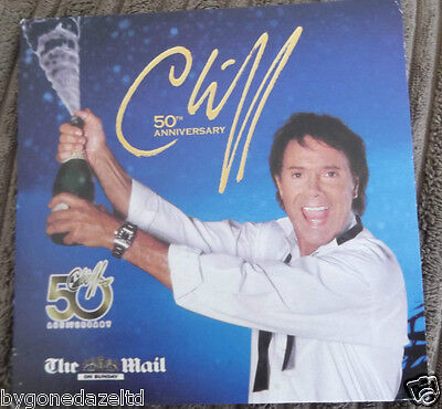 50TH ANNIVERSARY CD BY CLIFF RICHARD Daily Mail  PROMO CD Free UK Post!! • 1.09£