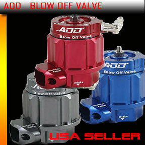 $103.55 • Buy ADD W1 Turbo Blow Off Valve BOV Boost Kit Turbocharger Supercharger COLOR BLUE