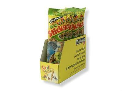 Vitakraft Budgie And Canary Treat Sticks 1 Twin Pack Assorted Flavours • 2.99£