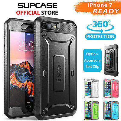 AU19.94 • Buy IPhone 8/7, 7/8 Plus, 6S/6 Case Cover,Genuine SUPCASE Heavy Duty Case For Apple