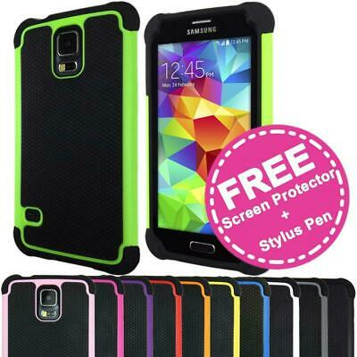 AU5.75 • Buy Shockproof Heavy Duty Case Hard Tough Shock Cover For Samsung Galaxy S5 SV I9600