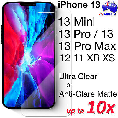 AU3.99 • Buy Premium Clear | Anti-Glare Matte Screen Protector Film For IPhone 11 Pro SE 2020