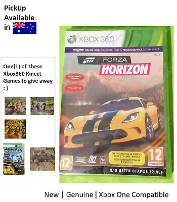 AU27.35 • Buy Xbox360 Game : BRAND NEW Forza Horizon Xbox One Compatible FREE Kinect Game