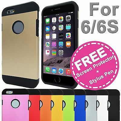 AU3.99 • Buy Shockproof Tough Hard Solid Heavy Duty Armor Case Cover For Apple IPhone 6s 6