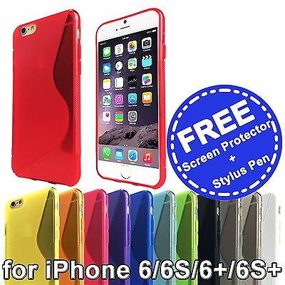 AU3.95 • Buy Soft Gel TPU Silicone Back Cover Case For Apple IPhone 6S 6 4.7  6 Plus 5.5  6S+