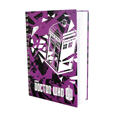 Doctor Who Worlds In Time Tardis A6 Notebook Brand New Great Gift School Office • 5.99£