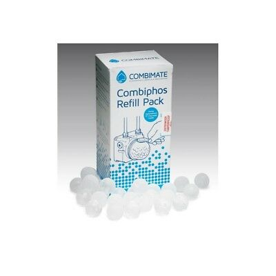 £27.75 • Buy CISTERMISER COMBIMATE REFILL 800g COMPLETE  'O' RING (SILIPHOS BALLS COMBIPHOS)