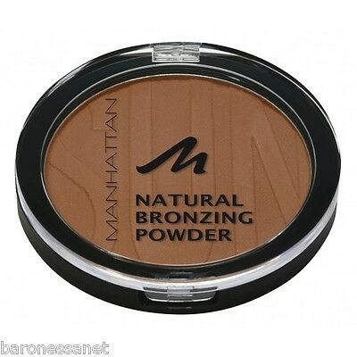 MANHATTAN COSMETICS NATURAL BRONZING POWDER 10g For Natural Looking Sun Tan  • 11.12£