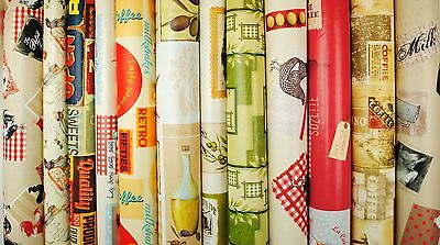 Kitchen Novelty Designs Tablecloth Wipe Clean Oilcloth Vinyl PVC  • 12.79£
