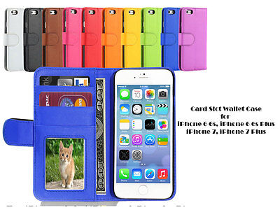 AU6 • Buy For Apple IPhone 6 IPhone 7 IPhone 8 IPhone X Flip Card Slot Wallet Case