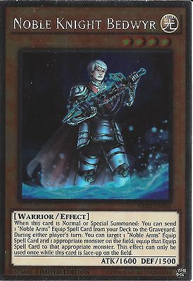 Yu-gi-oh: Platinum Rare - Noble Knight Bedwyr - Nkrt-en002 - Limited Edition • 0.99£