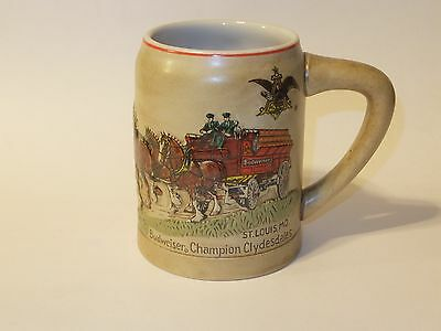 $ CDN125.22 • Buy AB Anheuser Busch CLYDESDALES CS19 1980 Christmas Holiday Stein