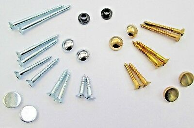 £2.65 • Buy Choice Of Discs Or Dome Caps Bathroom Mirror Sanitary Signs Screws