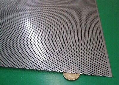 £159.37 • Buy Perforated 304 Stainless Steel Sheet .024  Thick X 24  X 24 , .045  Hole Dia.