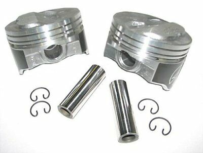 AU253.42 • Buy Speed Pro H634CP40 Small Block Chevy 400 408 .200 Dome Hyper Pistons 040 SBC 5.7