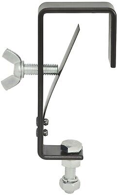 10 X STRONG MOUNTING HOOKS FOR LIGHTS G CLAMP BLACK Poles Up To 50mm 151.443 • 44.99£