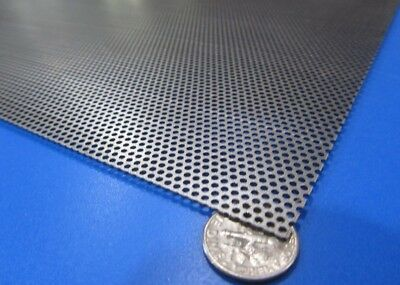 £60.41 • Buy Perforated Staggered Steel Sheet .030  Thick X 24  X 24 , .062  Hole Dia.