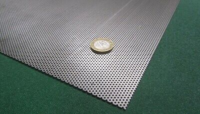 £71.32 • Buy Perforated Staggered Steel Sheet .030  Thick X 24  X 24 , .05  Hole Dia.