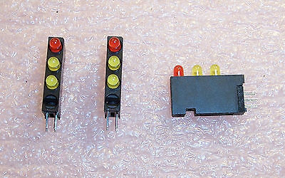 $5.99 • Buy Qty (10) 568-0201-330 Dialight  Circuit Board Led Indicators Red-yellow-yellow