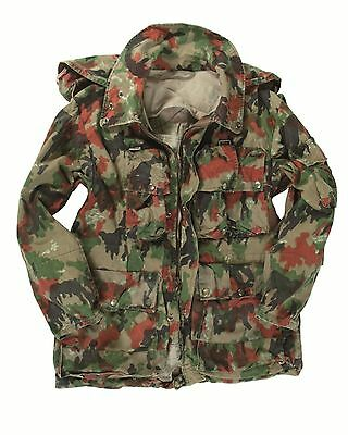 Genuine Swiss Army Issue M70 Alpenflage Camo Loadbearing Jacket GRADE 1 Or 2 • 16.99£