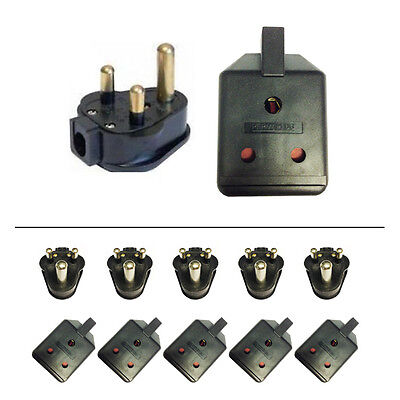 £24.97 • Buy 5 X 15 Amp Permaplug Rubber Plug & 15A Socket For Stage Theatre Lighting