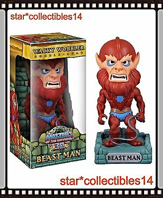 $22.88 • Buy Masters Of The Universe 30th Anniversary BEAST MAN Wacky Wobbler Bobble Head