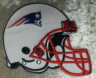 $4.95 • Buy New England Patriots Helmet  3.5  Iron On Embroidered Patch ~USA Seller!