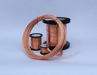 £5.74 • Buy SOLID BARE COPPER Round Wire 0.4mm - 5mm Jewelry Making / Wire Craft UNPLATED