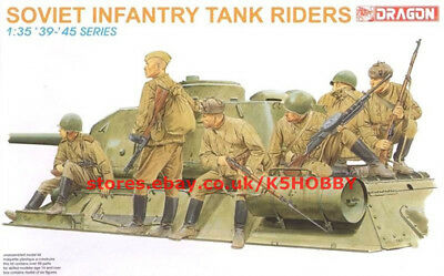 Dragon 6197 1/35 Soviet Infantry Tank Riders (6 Figures Set) • 14£