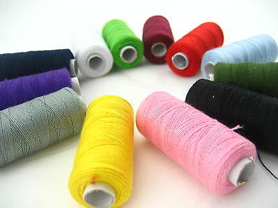 £2.35 • Buy Assorted Jeans Shoes Bags Thread Real Strong Thick Sewing Thread Spools Thread