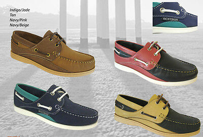 Ladies Seafarer Yachtsman Deck Shoes - FREE SHIPPING Lady Deck Shoes  Loathers • 32.50£