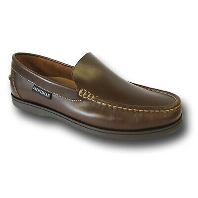 £35 • Buy SEAFARER YACHTSMAN DECK SHOES SLIP ON STYLE    FREE POST    Brand New