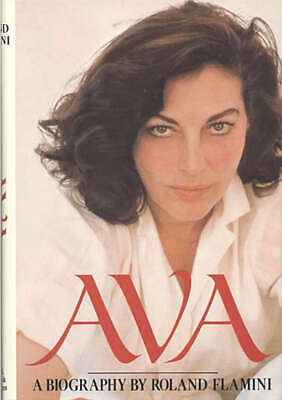 AVA Biography Of Ava GARDNER By Roland Flamini 1983 1st • 7.15£