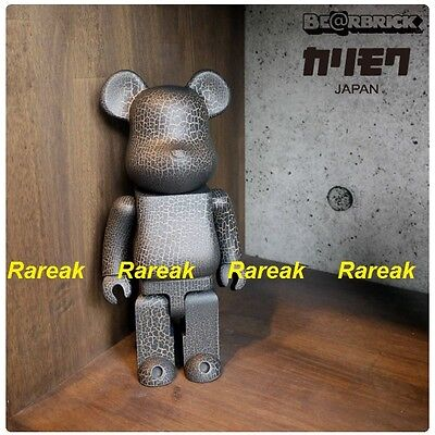 $1425.99 • Buy Medicom Be@rbrick 2016 Karimoku Crack Print Wooden 400% CJ Mart Wood Bearbrick