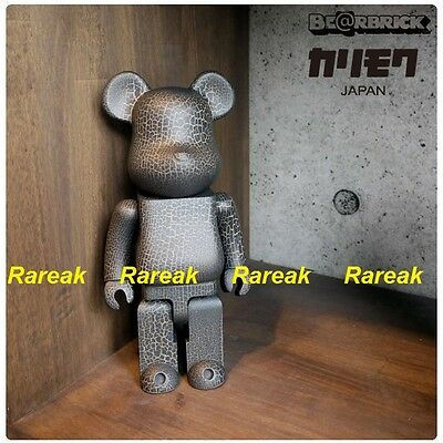 $1265.99 • Buy Medicom Be@rbrick 2016 Karimoku Crack Print Wooden 400% CJ Mart Wood Bearbrick
