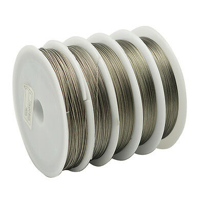 £0.99 • Buy ❤ 50m Roll TIGERTAIL Beading Wire 0.45 Mm Silver Jewellery Making ❤