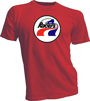 $17.99 • Buy INDIANAPOLIS RACERS DEFUNCT WHA HOCKEY VINTAGE RED STYLE T-SHIRT NEW Gretzky