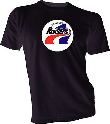 $19.99 • Buy INDIANAPOLIS RACERS DEFUNCT WHA HOCKEY VINTAGE Black STYLE T-SHIRT NEW Gretzky