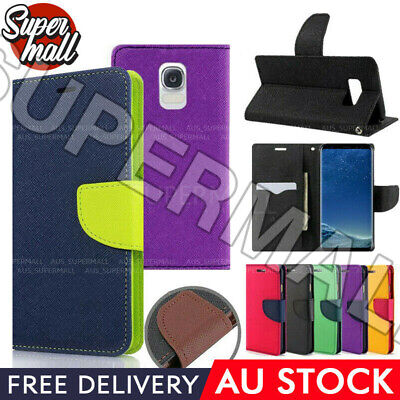 AU7.95 • Buy New For Samsung Galaxy S8 S8 Plus Case Gel Leather Wallet Flip Card Holder Cover