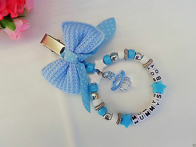 £7.99 • Buy Personalised Stunning Pram Charm In Blue For Baby Boys Ideal Gift