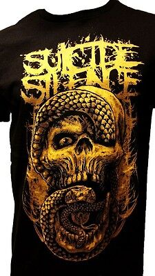 £15.57 • Buy Suicide Silence Mens Band T-shirt New Size Sm Med Lg Xl 2x