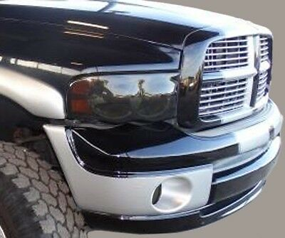 $22.43 • Buy 02-05 Dodge Ram 1500 2500 Precut Headlight + Fog Light Tint Vinyl Smoked Covers