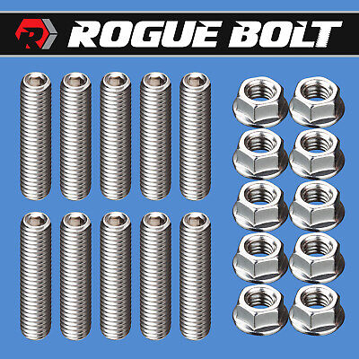 $14.95 • Buy Ford Fe Valve Cover Stud Kit Bolts Stainless Steel 352 360 390 406 427 428