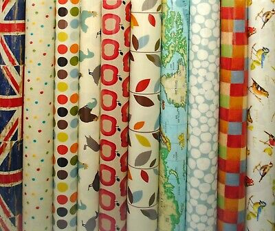 Prestigious PVC Fabric WIPE CLEAN Tablecloth Oilcloth All Designs And Sizes • 13.99£