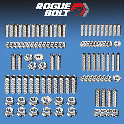 AU70.73 • Buy Sbc Small Block Chevy Engine Stud Kit Bolts Stainless Steel 283 305 327 350 400