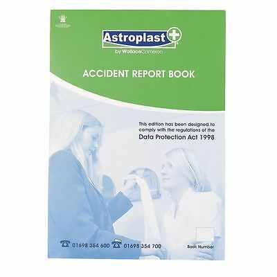 New Wallace Cameron Accident Report Book, Still In Plastic Wrapper • 9.79£