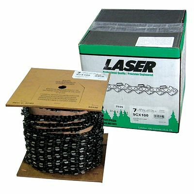 £217.83 • Buy Laser Chainsaw Chain 3/8 .050 Chisel 100 FT - Compares To Oregon 72LG